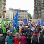 ألمانيا: مظاهرات حاشدة شارك فيها عشرات الآلاف في مدن ألمانية على رأسها العاصمة برلين