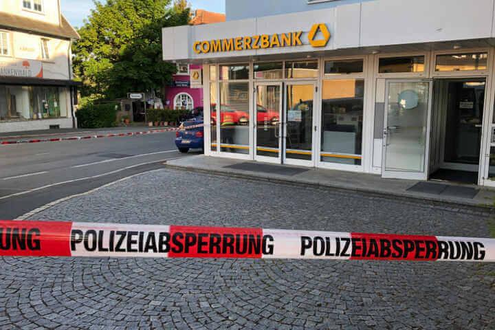 تفجير صراف آلي في مدينة ألمانية