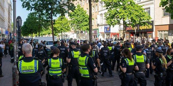 مظاهرات في مدينة ألمانية