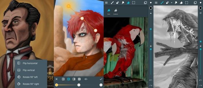 تطبيقات الرسم: ArtFlow