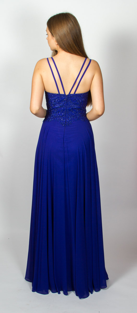 Simone (Velvet Blue) Back