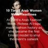 Arab Fashion Record-Emirati Women-Arab Women