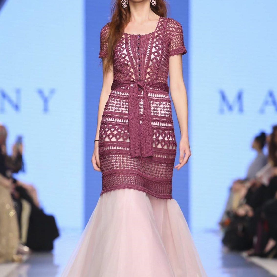 Malliny Resort 2018 Collection, Arab Fashion Week, Dubai