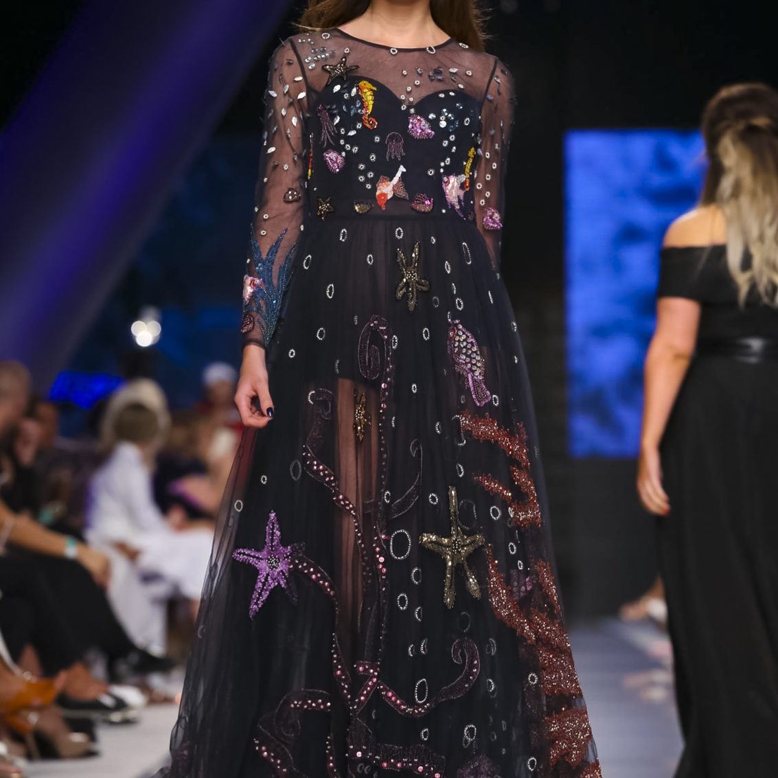 Aiisha Ramadan Fashion Show, Ready to Wear Collection Fall Winter 2017 in Dubai