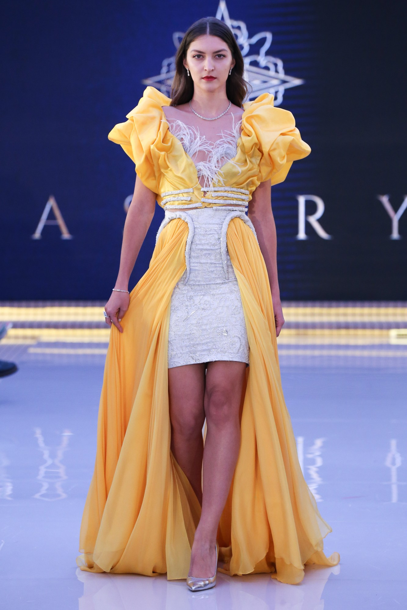 Asory House Resort 2018 Collection Dubai Fashion Week