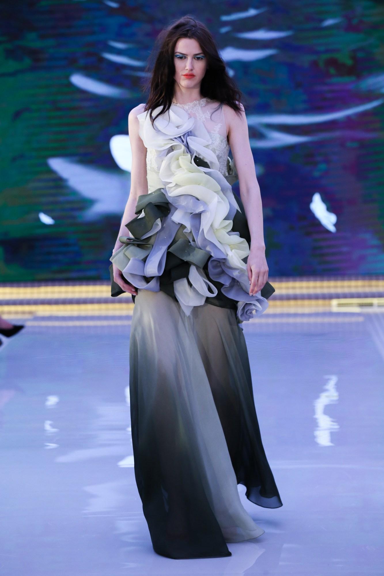 Jordy Fu Resort 2018 Collection Dubai Fashion Week