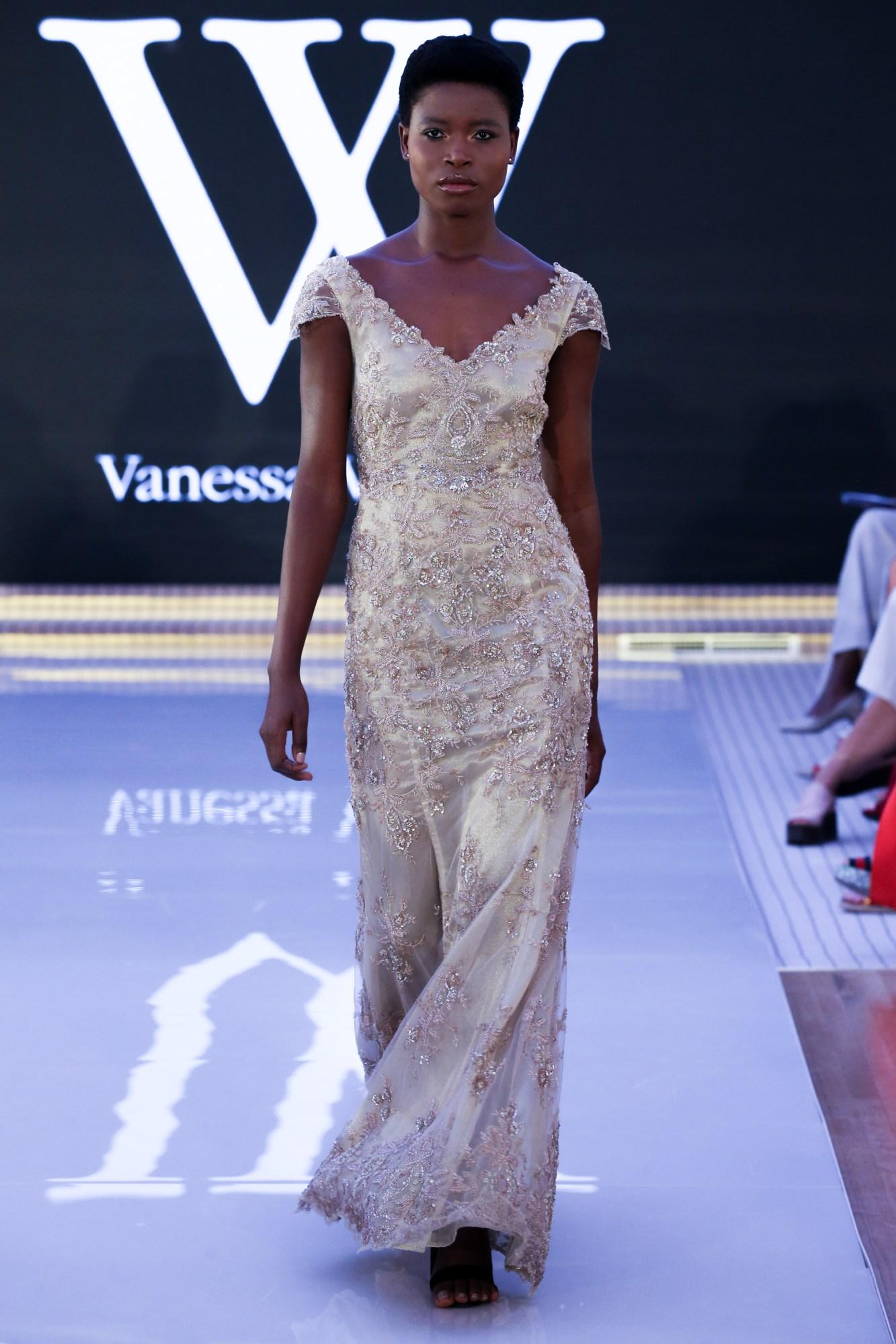 Vanessa VillafaneReady Couture Fall Winter 2018 CollectionDubai Fashion Week