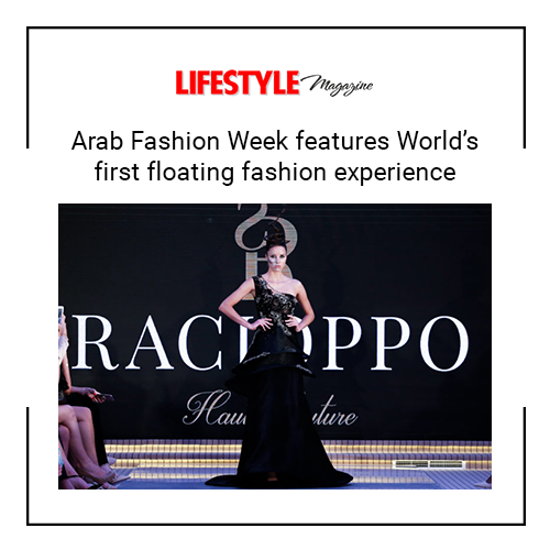 Arab Fashion Week features World s first floating fashion experience fe4f9e6671e81