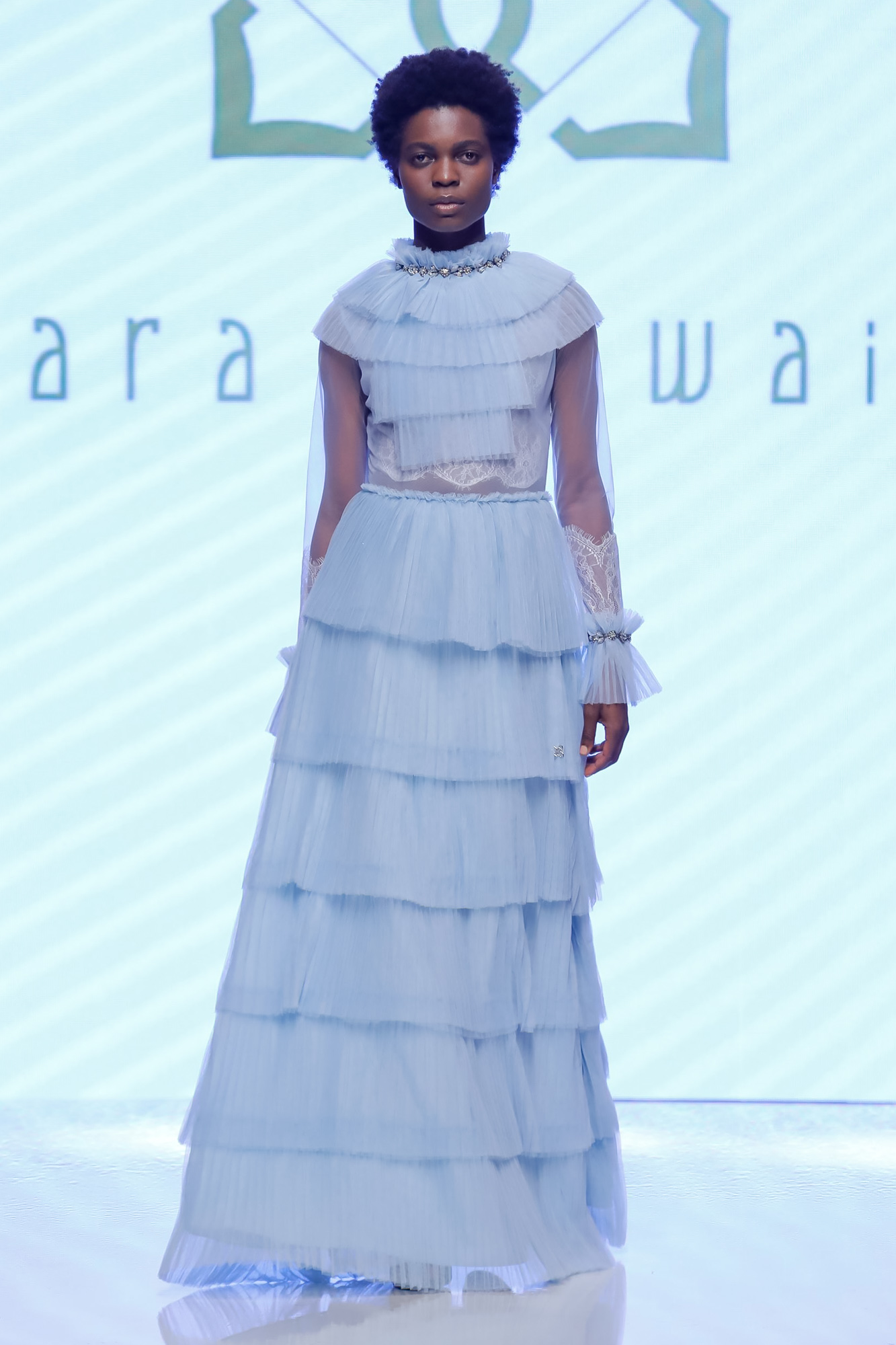 Sara Altwaim Resort 2020 Collection Arab Fashion Week in Dubai