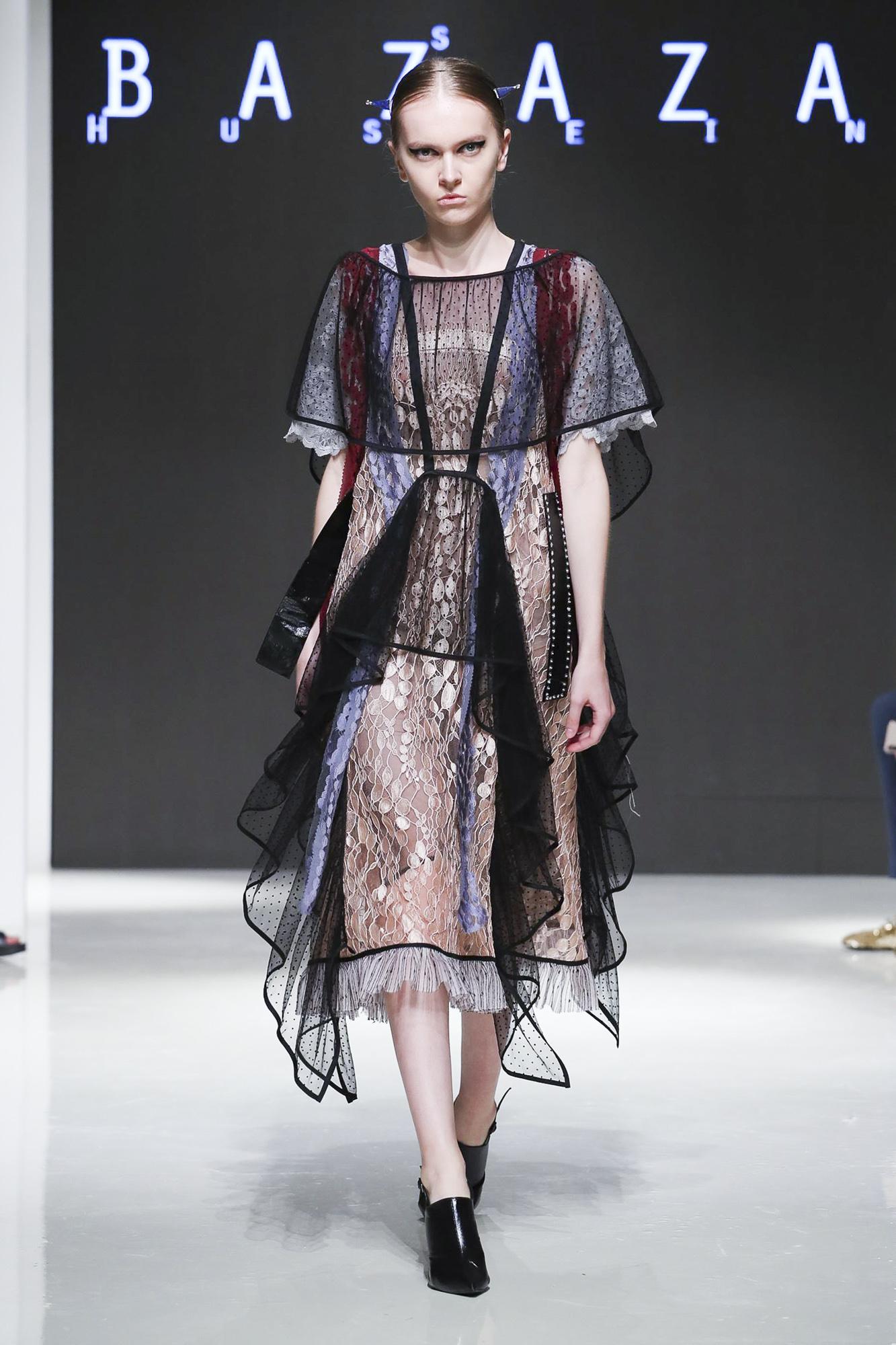 Hussein Bazaza fashion show, Arab Fashion Week collection Spring Summer 2020 in Dubai