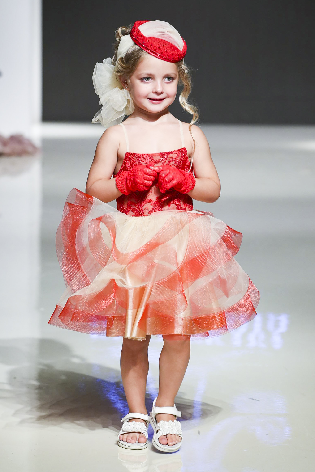 Kibovskaya fashion show, Arab Fashion Week collection Spring Summer 2020 in Dubai