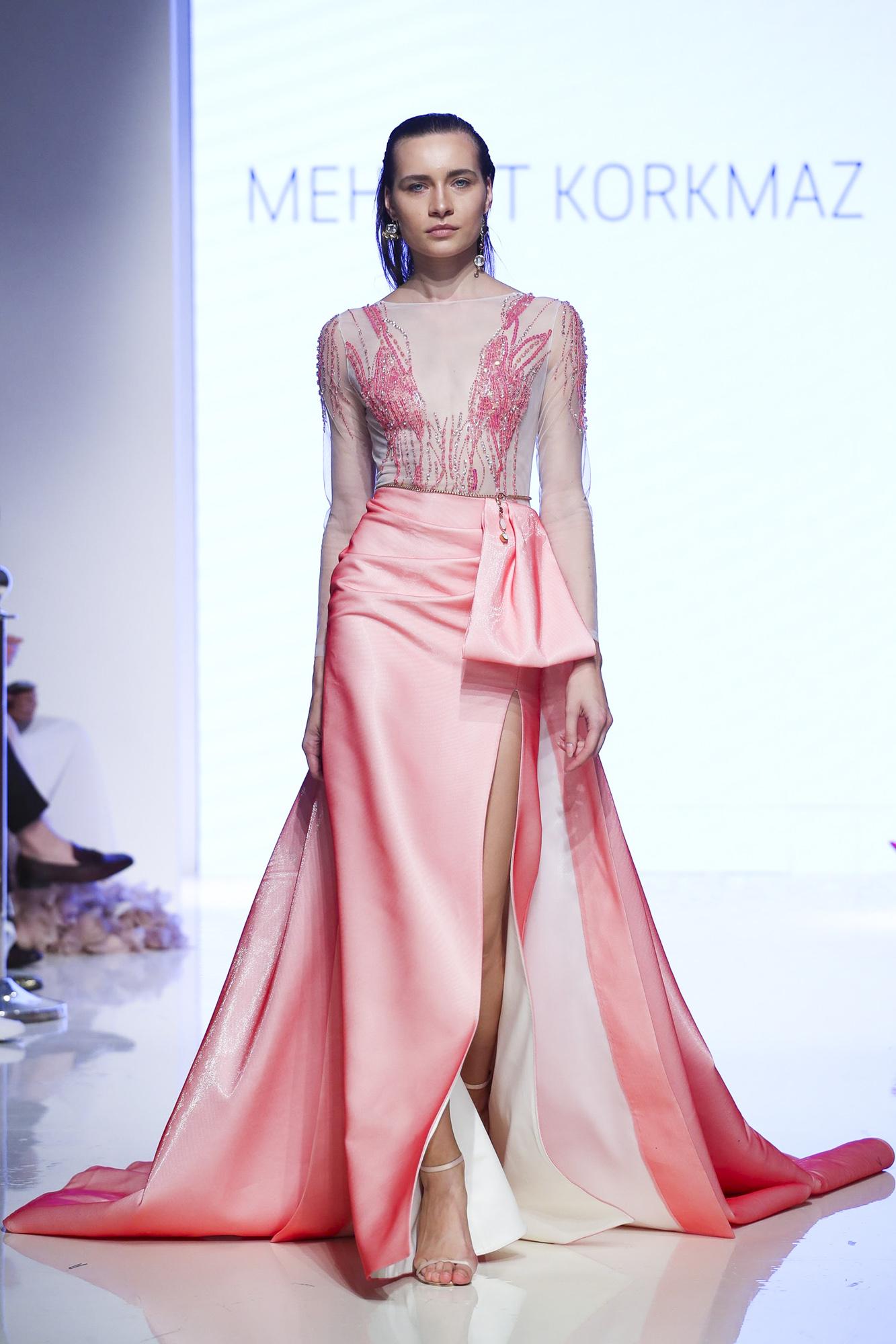 Mehmet Korkmaz fashion show, Arab Fashion Week collection Spring Summer 2020 in Dubai