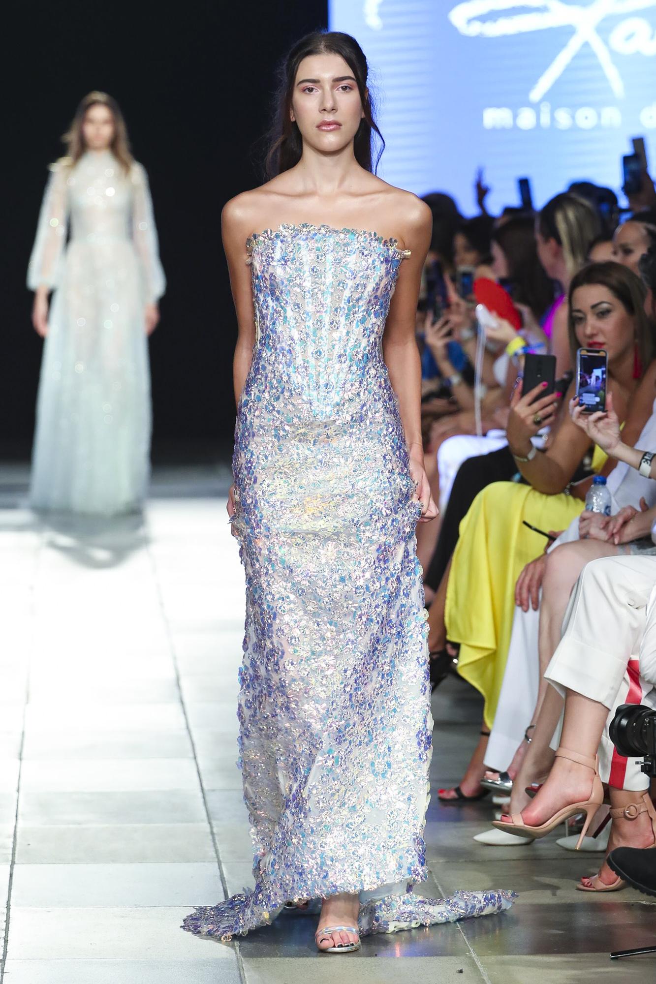 Rami Kadi fashion show, Arab Fashion Week collection Spring Summer 2020 in Dubai