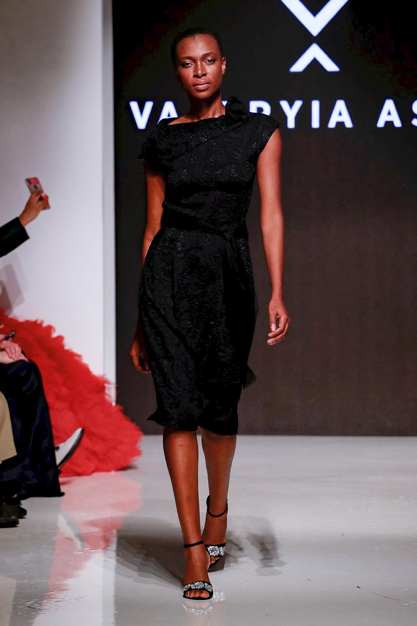 Valeryia As Ad fashion show, Arab Fashion Week collection Spring Summer 2020 in Dubai