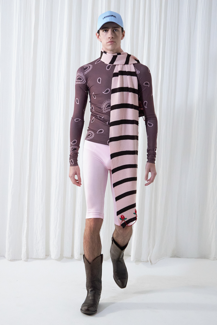 Lazoschmidl AW21 Look 15 by Julius Hayes