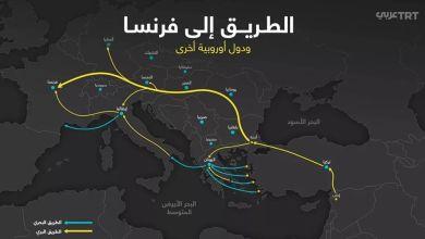 صورة بالصور المواقع التركية تمد اللاجئين بخرائط الطرق الى فرنسا ودول اوروبية اخرى