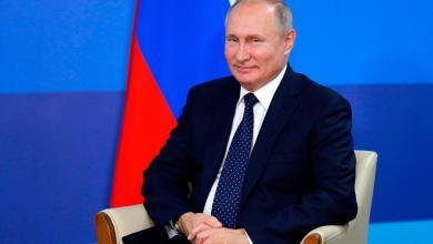 صورة بوتين يعلن عطلة رسمية في البلاد لمدة اسبوع بسبب كورونا