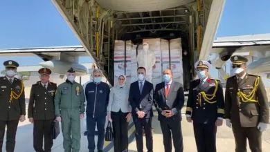 صورة زيارة مفاجة وسرية لوزيرة الصحة المصرية الى ايطاليا تحمل مساعدات طبية لايطاليا
