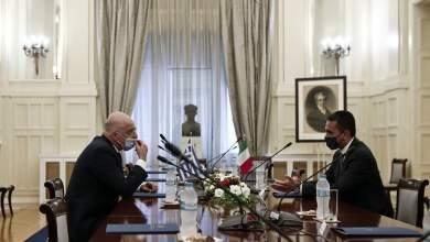 صورة اليونان وايطاليا توقعان اتفاقية الحدود البحرية التاريخية