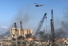 صورة اليونان ترسل وحدة بحث وإنقاذ خاصة إلى لبنان