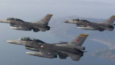صورة استفزازات تركية جديدة فوق جزيرة ساموس