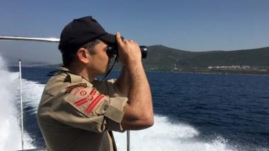 صورة خفر السواحل التركي ينقذ 64 مهاجرا غير شرعي