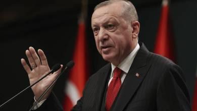 صورة اردوغان: اولئك الذين يهددوننا بالعقوبات سيصابون بخيبة امل في نهاية المطاف