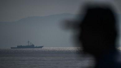 صورة البحرية التركية تجري رمايات بالذخيرة الحية في شرق المتوسط