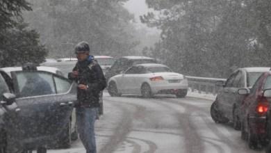 صورة سوء الاحوال الجوية لياندروس: جزء مغلق من الوطن