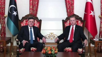 صورة محكمة ليبية تلغي مذكرة تعاون تركية وليبية
