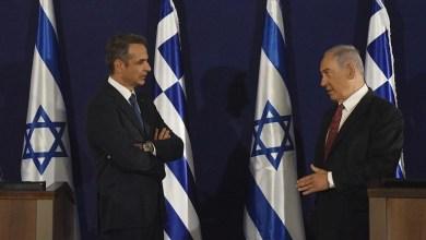 صورة اتفاق في مجال الدفاع لمدة 20 عاما بين اسرائيل واليونان
