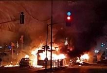 صورة اصابات في تل ابيب بعد اطلاق صواريخ المقاومة