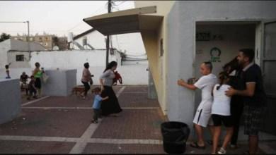 صورة فتح الملاجئ في مستوطنات غلاف غزة