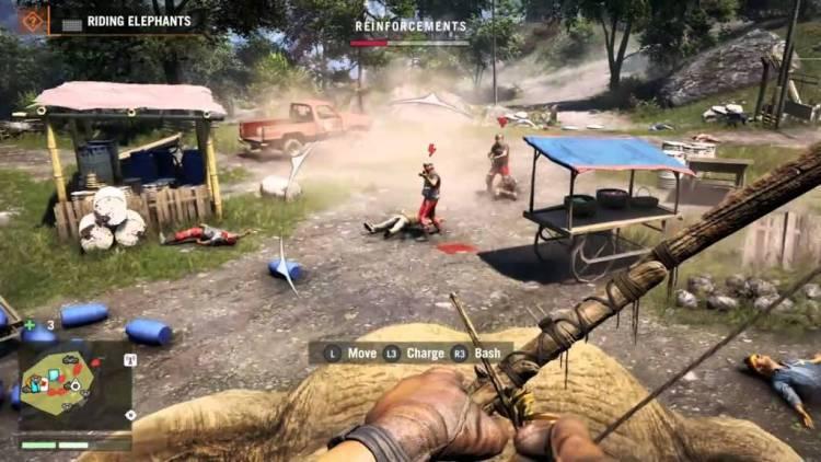 شاهد عرض اللعب الجماعى (الأونلاين) بلعبة Far Cry 4