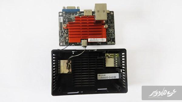 تثبيت أسلاك بطاقة الشبكة