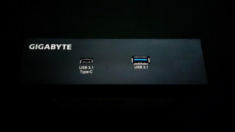 Gigabyte Z170X Gaming G1 Front Panel