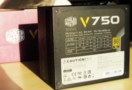 Cooler Master V750 Fully Modular PSU Front