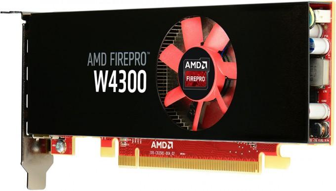 البطاقة الاحترافية AMD-FirePro-W4300