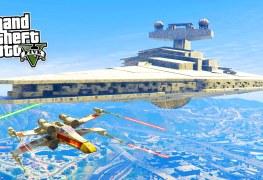 تعديل جديد للعبة GTA V لإضافة سفن Star Wars إليك كيفية إضافته