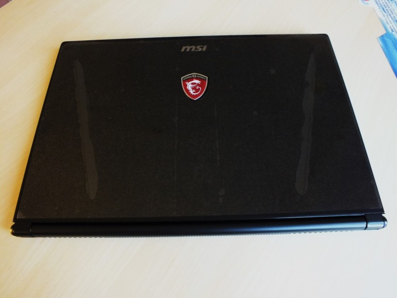 11- MSI GS60 6QE Ghost Pro Laptop front