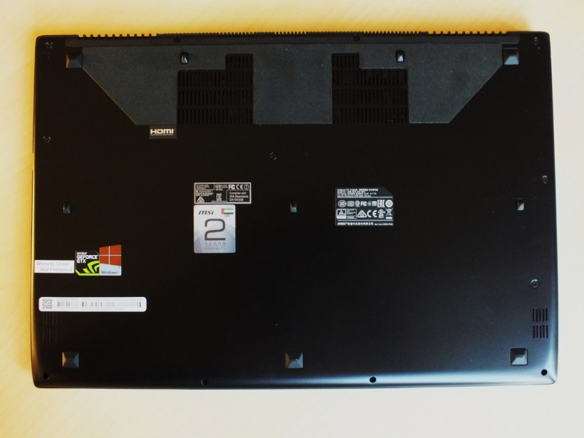 12- MSI GS60 6QE Ghost Pro Laptop Back