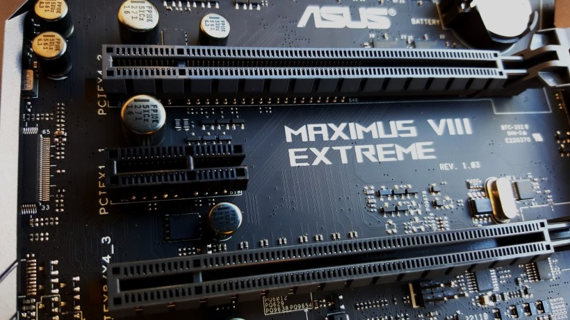 27-Asus Z170 Maximus VIII Extreme Assembly