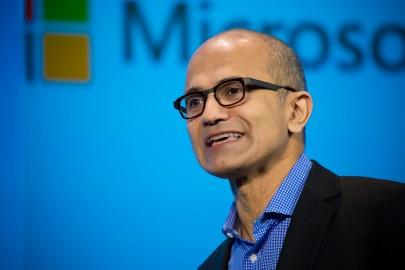 المدير التنفيذى لشركة ميكروسوفت Satya Nadella