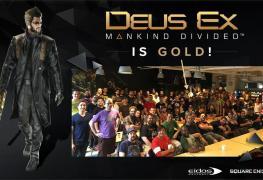 رسمياً لعبة Deus Ex: Mankind Divided تصل لمرحلة التطوير الذهبية