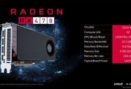 تخفيض سعر بطاقة AMD RX 470