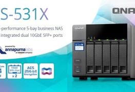 وحدة QNAP TS-531X لفئة الأعمال