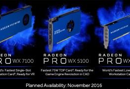 سلسلة بطاقات AMD Radeon PRO WX