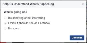 فيسبوك - الأخبار الكاذبة