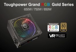 سلسلة مزود الطاقة Thermaltake ToughPower Grand RGB Gold