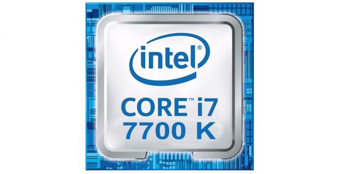 معالج إنتل Core i7 7700K